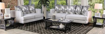 Blaenavon SM8826-SFLV3PK 3-Piece Living Room Set with Sofa  Loveseat and Table Set in