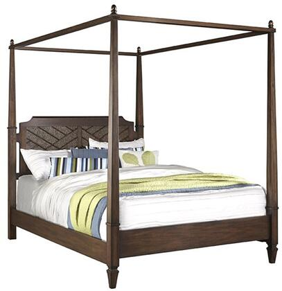 Coronado B130-60-62-78 Queen Canopy Bed with Headboard  Footboard  Canopy Pack and Side Rails in