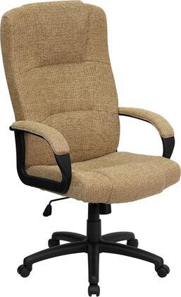 BT-9022-BGE-GG High Back Beige Fabric Executive Office