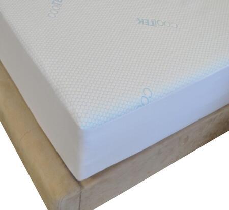 SASCTVCP116EK King Thomasville Cool Mattress Protector White