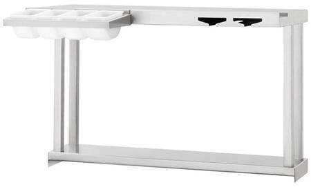 LCSPS Pass Shelf For Cocktail Pro (LCS30)  With Halogen Lights  2 Glass Holder