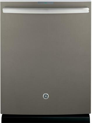 """GE Profile™ Series 24"""" Hidden Control Tall Tub Built-In Dishwasher with Stainless Steel Tub PDT855SMJES"""