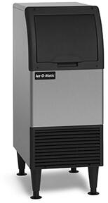 CIU050FA Self-Contained Cube Ice Machine with 50 lbs. Ice Production Per Day  Integrated Storage  ADA Floor-Mount Kits  Filter Free Air  Cuber Evaporator  in