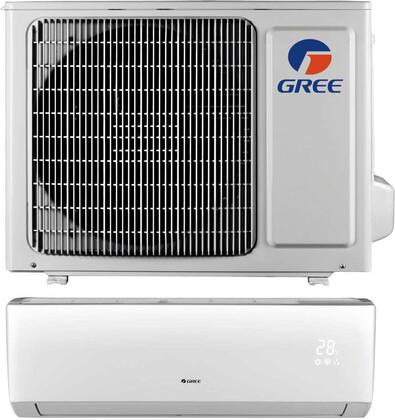 Gree LIVS09HP115V1B 9,000 BTU 16 SEER LIVO+ Wall Mount Ductless Mini Split Air Conditioner Heat Pump 115V