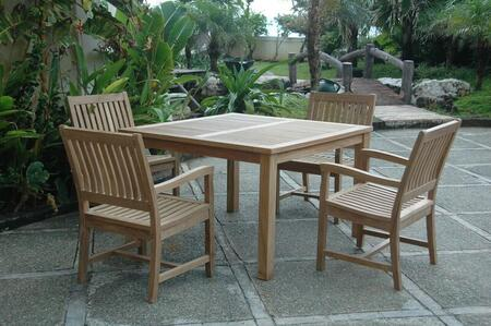 SET-106C 5-Piece Dining Set with 47