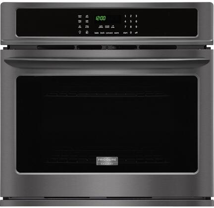 Frigidaire FGEW3065PD wall oven in Black Stainless Steel