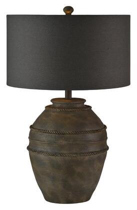 LPT633 Ragnar Table Lamp in Cement