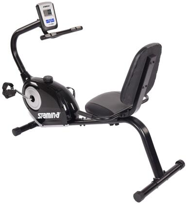 Magnetic Collection 15-1360 Recumbent Exercise Bike 1360 with 8 Levels Magnetic Resistance  Multi-Functional Monitor  Textured Pedals  Adjustable Padded Seat