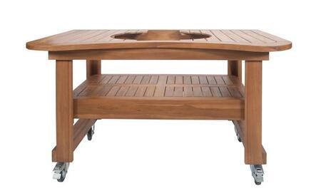PR615 Teak Table for Oval LG