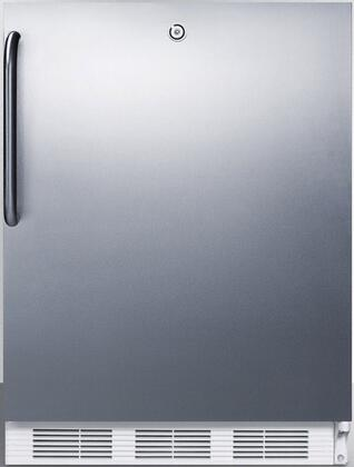 FF6LCSSADA 24 inch  FF6BIADA Series ADA Compliant  Medical Freestanding or Built In Compact Refrigerator with 5.5 cu. ft. Capacity  Door Lock  Crisper  Interior