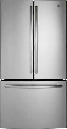 GE GNE27JSMSS 27 Cu. Ft. Stainless French Door Refrigerator
