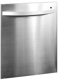 Stainless Steel Dishwasher Door Panel for Panel Ready