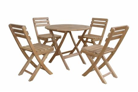 SET-226 5-Piece Bistro Set with 32