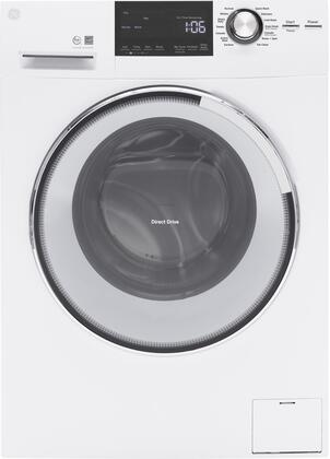 GFW148SSLWW  24 Front Load Washer with 2.4 cu. ft. Capacity  Steam
