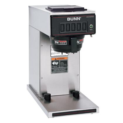 23001.0040 CW15-TC Thermal Carafe Dispensed Automatic Coffee Brewer with SplashGard Funnel and All Stainless Steel