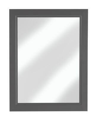 Urban Collection URBSD23M 23 inch  x 30 inch  Mirror with Bevel Shaker Style Frame and Hanging Wire Included in