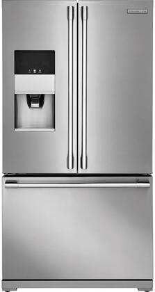 E23BC79SPS 36 inch  Professional Counter-Depth French Door Refrigerator with 21.5 cu. ft. Total Capacity  Custom Temp Drawer  Theatre Lighting  PureAdvantage