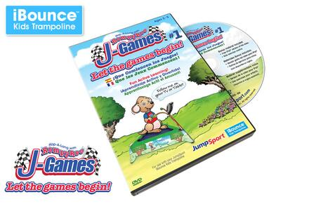 VID-S-11988-01 J-Games 1 - Let the Games Begin!  DVD  in Hard