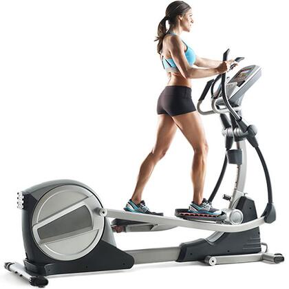 PFEL19914 Smart Strider 935 iFit Enabled Elliptical with Touchscreen Display  24 Resistance Levels  30 Workout Apps  iPod Music Port  CoolAire Workout Fan