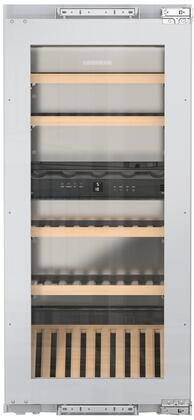 Liebherr HW4800 24 Inch Built-In Dual Zone Wine Cooler with 48 Bottle Capacity, in Panel Ready