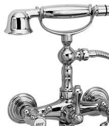 N934 Exposed Tub & Hand Shower Set - Wall