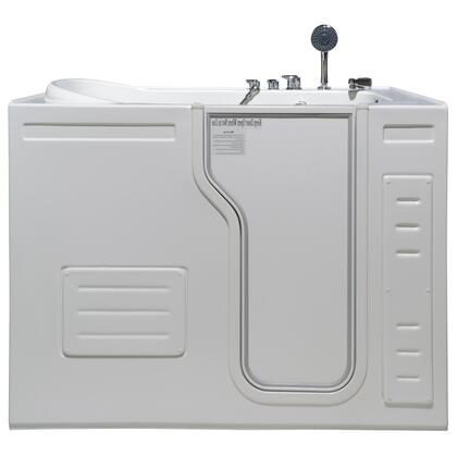 Aurora HY1323R  51 inch W x 29.5 inch D x 42 inch H  Inward Opening Accessible Walk-In Soaking Tub with Right Hand