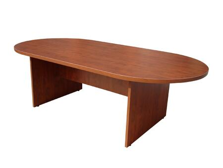 N137-C  10ft Race Track Conference Table in Cherry