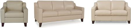 Cora Collection 34903MS1294SLC 3-Piece Living Room Set with Sofa  Loveseat and Chair in