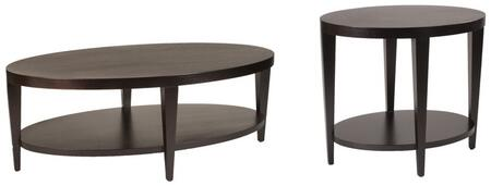 Marla Collection 30506012 2 PC Living Room Table Set with 54