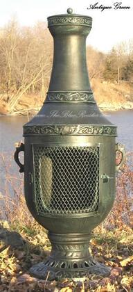 ALCH026AG Venetian Chiminea Outdoor Fireplace in Antique