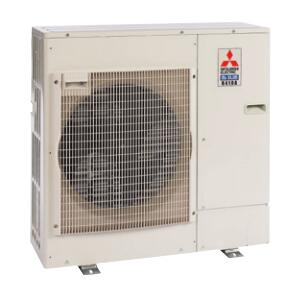 PUZA36NHA6 38 inch  Mini Split Outdoor Condenser Unit with 36 000 BTU Cooling Capacity  DC Inverter-driven Twin Rotary Compressor  Quiet Operation  and 230/208