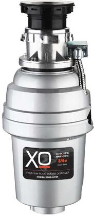 XOD34HPBF Food Waster Disposer with 3/4 HP  Batch Feed Operation  2500 RPM Hi-Torque Motor  Anti-Microbial Odor Protection  Stainless Steel Grind System and 3'