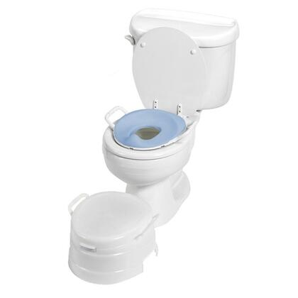 535W Primo 4 in 1 Soft Seat Toilet Trainer and Step Stool in