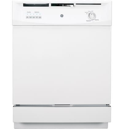 "GE 24"" Built-In Dishwasher White GSD3301KWW"