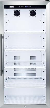 Summit SCR1006 22 Inch 9 cu. ft. Capacity Freestanding Beverage Center with Reversible Door
