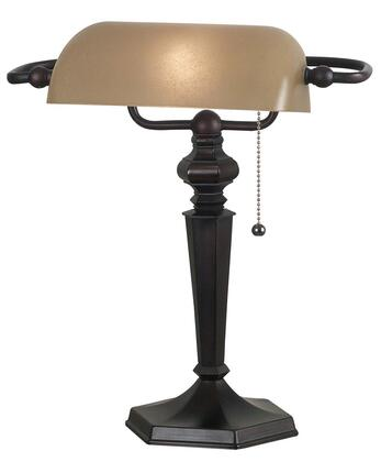 20610ORB Chesapeake Banker Lamp in Oil Rubbed Bronze