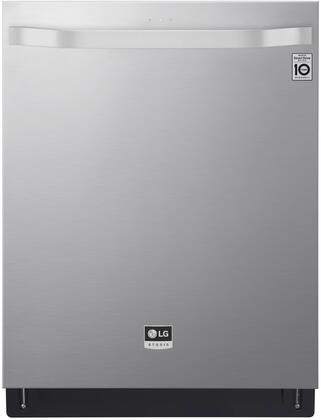 "LG 24"" Top Control Built-In Dishwasher with Stainless Steel Tub Stainless steel LSDT9908ST"