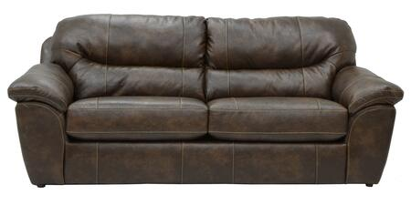 Brantley Collection 4430-03 1215-09/3015-09 95 Sofa With Pillow Top Arms  Bonded Leather Upholstery And Luggage Stitching In