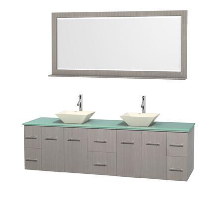 WCVW00980DGOGGD2BM70 80 in. Double Bathroom Vanity in
