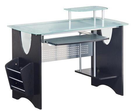 RTA-3325-ES18 Techni Mobili Glass-Top Home Office