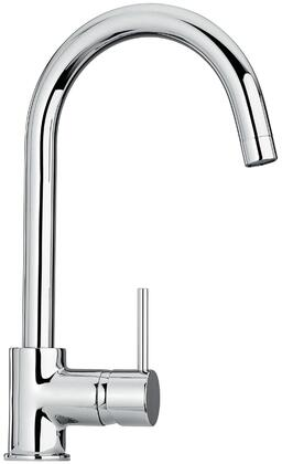 25572-21 Single Hole Kitchen Faucet with Goose Neck Spout  Designer Oil Rubbed Bronze