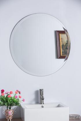 808312A 22 inch  Round Frameless