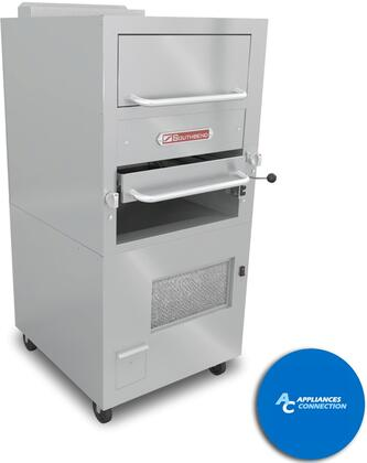 171 Platinum Series Freestanding Infrared Broilers with Fully Insulated Lining and Burner Boxes  Single Deck with Oven  Up to 104000