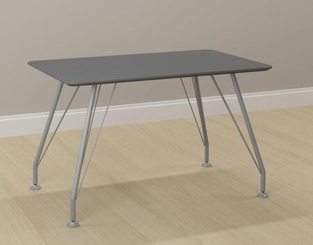 18401GP Metal and Wood Rectangular Home Office Rectangular Desk in