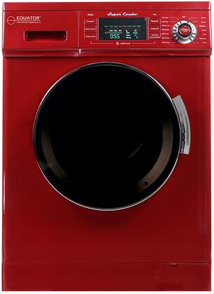 Equator 1.6 Cu. Ft. 7-Cycle Washer and Dryer Combo Merlot EZ 4400 CV MERLOT