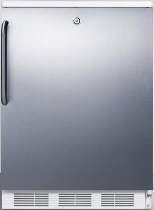 FF6LBI7SSTB 34 inch  FF6BI7 Series Medical  Commercially Listed Freestanding or Built In Compact Refrigerator with 5.5 cu. ft. Capacity  Front Door Lock  Interior
