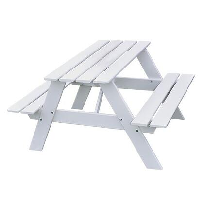 Smelis SMELIS19 Kids Picnic Table with Stretchers and Solid Knotty Pine Construction in