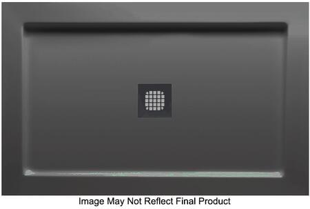 S4836DT-BL 48 inch  Double Threshold Designer Series Shower Base in