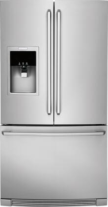 Electrolux 21.7 Cu. Ft. French Door Counter-Depth Refrigerator Stainless EW23BC87SS