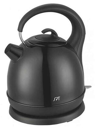 SK-1715B 1.7 Liter Stainless Cordless Kettle with Black